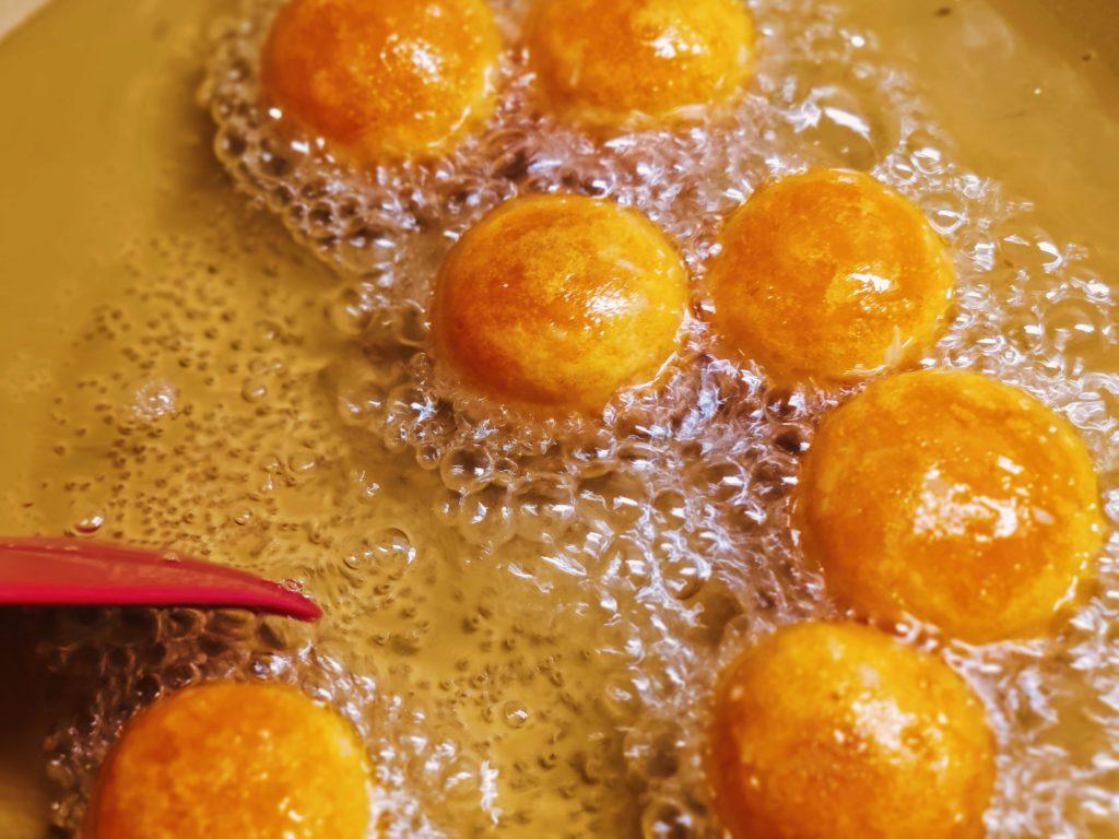 Тайские пончики из батата