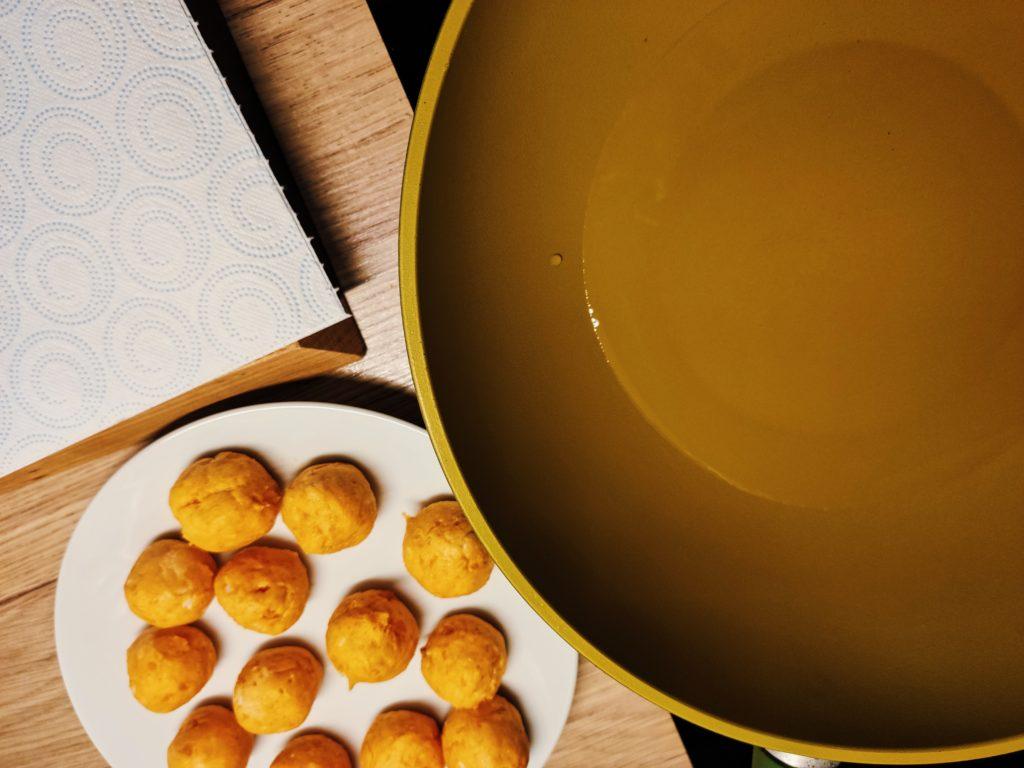 Пончики из батата