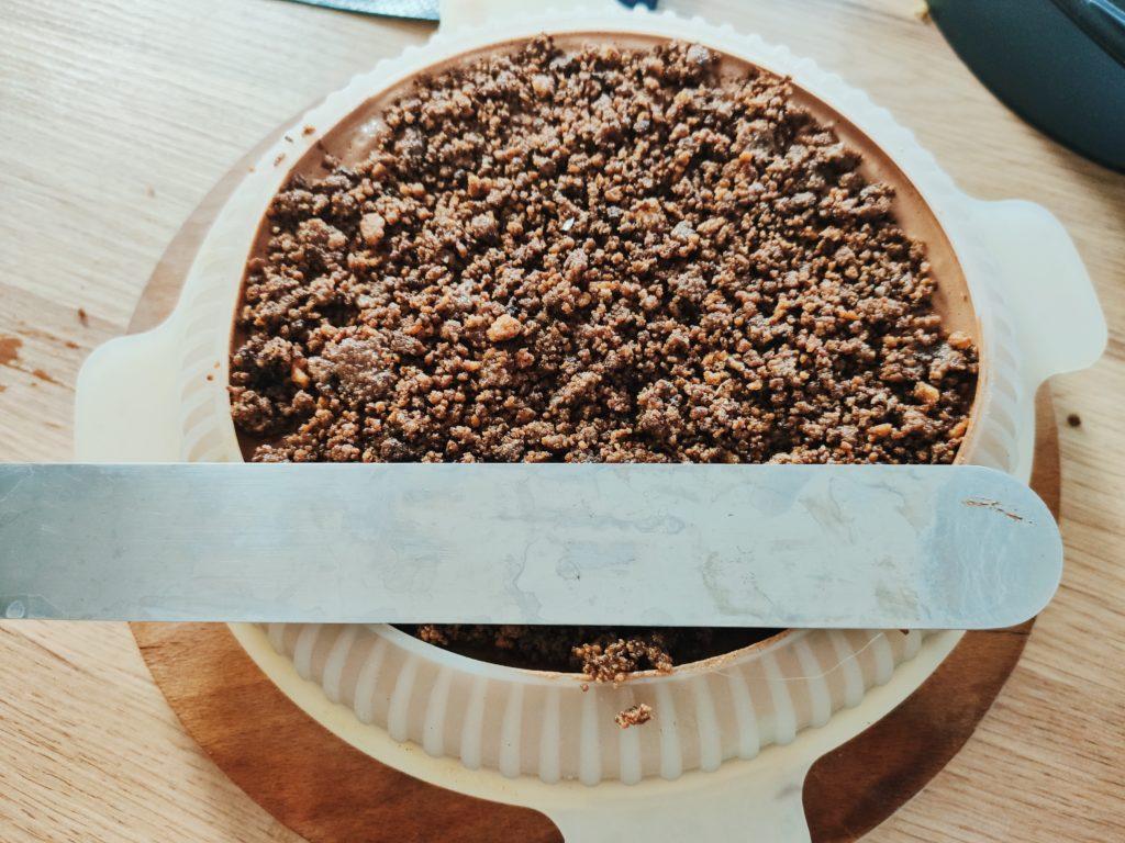 сборка муссового торта
